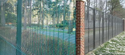 Weld 358 Wire Mesh Anti-Climbing Secure Fence