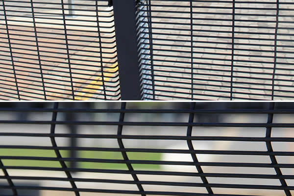 Hot Dipped Galvanised 358 High Security Mesh