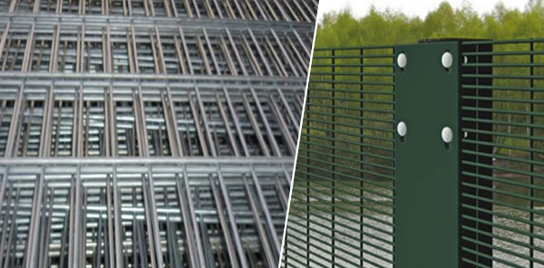SS Grade Anti Cut Through 358 Mesh Welded Fence Panels